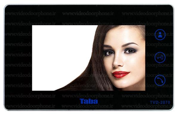 ایفون تصویری تابا مدل 2070 تمام لمسی